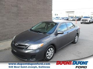 Used 2011 Toyota Corolla Berline 4 portes, boîte manuelle, S for sale in Gatineau, QC