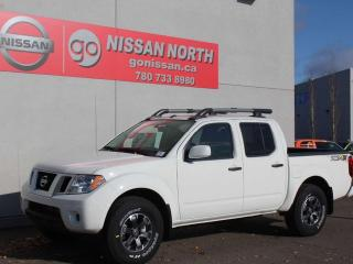 New 2019 Nissan Frontier PRO-4X/CREW CAB/4X4/NAV for sale in Edmonton, AB