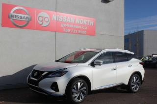 New 2020 Nissan Murano SL/AWD/LEATHER/PANO ROOF/NAV for sale in Edmonton, AB