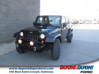 Used 2011 Jeep Wrangler 4 RM, 4 portes, Sport for sale in Gatineau, QC