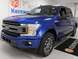 Used 2018 Ford F-150 XLT sport 4x4 ecoboost, sunroof, heated power seats, trailer assist, back up cam for sale in Edmonton, AB
