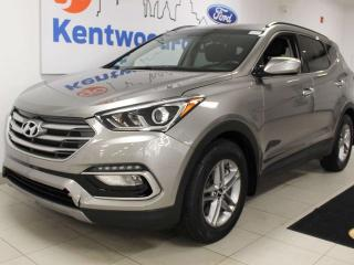 Used 2018 Hyundai Santa Fe Sport Sport AWD with heated power seats and a back up cam for sale in Edmonton, AB