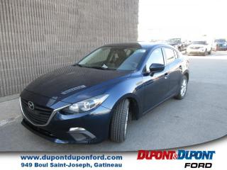 Used 2015 Mazda MAZDA3 Berline 4 portes, boîte manuelle, GS for sale in Gatineau, QC