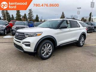 New 2020 Ford Explorer XLT 202A, 4WD, 2.3L Ecoboost, Power Heated Seats, Heated Steering Wheel, Lane Keeping System, Remote Keyless Entry, Reverse Camera/Sensing System, Navigation, Moonroof, Adaptive Cruise Control, Steeri for sale in Edmonton, AB