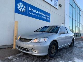 Used 2005 Honda Civic Cpe Si-G 5 SPD M/T for sale in Edmonton, AB
