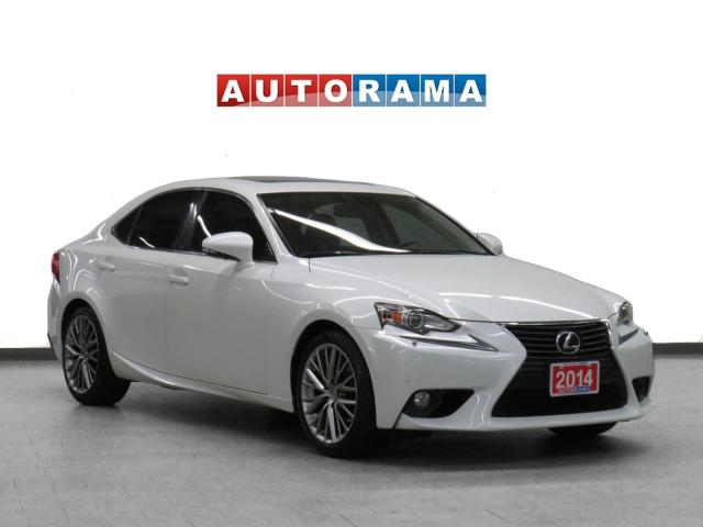 2014 Lexus IS 250 4WD Navigation Leather Sunroof Backup Cam