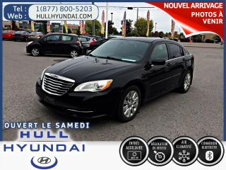 Used 2014 Chrysler 200 LX, WOW bas KM!! SUPER OFFRE A QUI LA CHANCE! for sale in Gatineau, QC