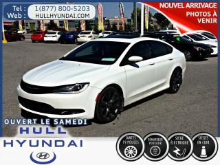 Used 2015 Chrysler 200 S, CUIR, TOIT OUVRANT, MODÈLE RARE!! for sale in Gatineau, QC