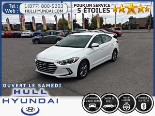 Used 2017 Hyundai Elantra GL, BLUETOOTH+CRUISE+CAMÉRA DE RECUL !! for sale in Gatineau, QC