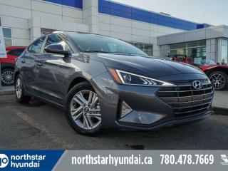 Used 2019 Hyundai Elantra PREF SUN/SAFETYPACK/HEATEDSEATS/STEERING/BACK UP CAM for sale in Edmonton, AB