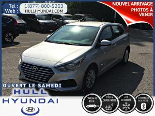 Used 2019 Hyundai Accent Preferred Wow déja une 2019 d'occasion !! for sale in Gatineau, QC