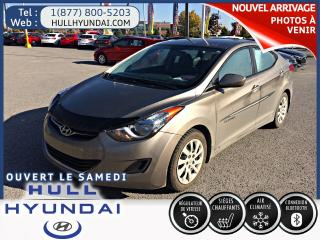 Used 2013 Hyundai Elantra GL  automatique avec sieges chauffants for sale in Gatineau, QC