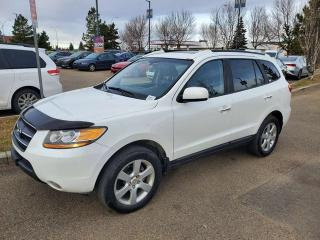 Used 2009 Hyundai Santa Fe LIMITED; AWD, HEATED SEATS, LEATHER, A/C AND MORE for sale in Edmonton, AB