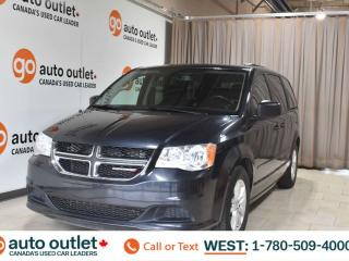 Used 2014 Dodge Grand Caravan Sxt, 3.6L V6, Fwd, Third row 7 passenger seating, Cloth seats, Backup camera for sale in Edmonton, AB