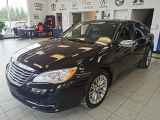 Used 2012 Chrysler 200 LIMITED / V6 / BAS KM for sale in Sherbrooke, QC