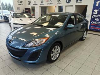 Used 2011 Mazda MAZDA3 MAZDA 3 / CRUISE / AIR CLIMATISÉ / for sale in Sherbrooke, QC
