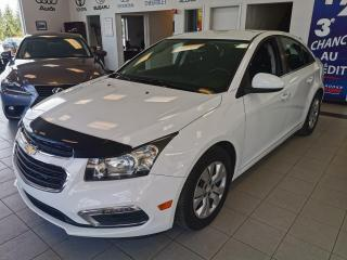 Used 2015 Chevrolet Cruze LT / AIR CLIMATISÉ / CRUISE / CAMERA for sale in Sherbrooke, QC