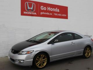Used 2010 Honda Civic Cpe SI COUPE for sale in Edmonton, AB
