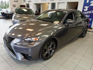 Used 2015 Lexus IS 350 CUIR / CAMERA / TOIT OUVRANT / SIEGE CHA for sale in Sherbrooke, QC