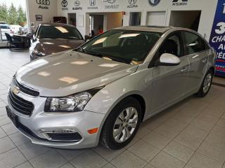 Used 2016 Chevrolet Cruze LT / CAMERA / CRUISE / TOIT OUVRANT / BL for sale in Sherbrooke, QC