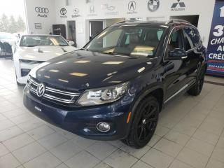 Used 2015 Volkswagen Tiguan R-LINE / TURBO / GPS / CAMERA / TO for sale in Sherbrooke, QC