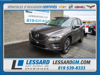Used 2016 Mazda CX-5 AWD AWD GT, TOIT OUVRANT, CUIR, CAMERA DE RECUL for sale in Shawinigan, QC