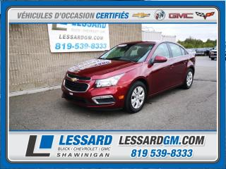 Used 2015 Chevrolet Cruze LT, REGULATEUR DE VITESSE, CAMERA DE RECUL, USB for sale in Shawinigan, QC