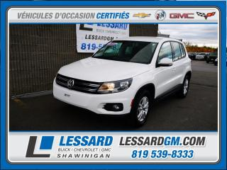 Used 2013 Volkswagen Tiguan TRENDLINE, SIEGES CHAUFFANT, CLIMATISATION, for sale in Shawinigan, QC