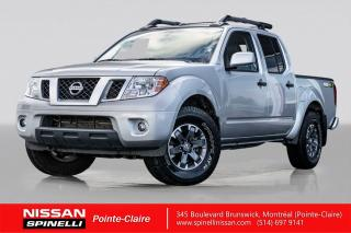 Used 2019 Nissan Frontier CREW CAB PRO-4X CUIR / CAMERA DE RECUL / TOIT OUVRANT / BANCS CHAUFFANTS for sale in Montréal, QC