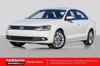 Used 2012 Volkswagen Jetta Highline CUIR / BANCS CHAUFFANTS / TOIT OUVRANT for sale in Montréal, QC