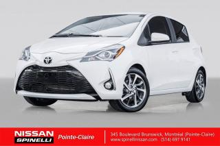 Used 2019 Toyota Yaris Hatchback SE CAMERA DE RECUL / SIEGES CHAUFFANTS / ECRAN TACTILE / ALERTE COLLISION for sale in Montréal, QC