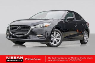 Used 2018 Mazda MAZDA3 GX AUTOMATIC / SKY ACTIVE / CAMERA DE RECUL / JAMAIS ACCIDENTÉ / AUTOMATIQUE for sale in Montréal, QC