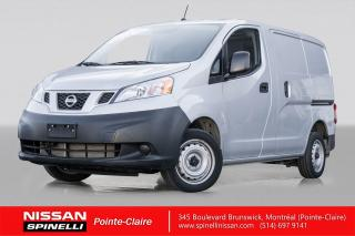 Used 2018 Nissan NV 2500 S CAMERA DE RECUL / 2.0L / VÉHICULE NEUF for sale in Montréal, QC