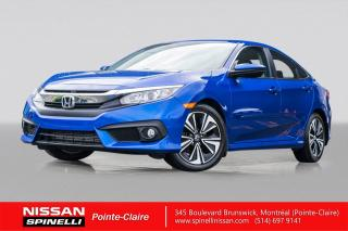Used 2017 Honda Civic EX-T SIEGES CHAUFFANTS / / CAMERA DE RECUL / ÉCRAN TACTILE for sale in Montréal, QC