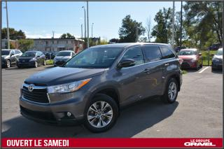 Used 2016 Toyota Highlander LE - 4WD - V6 - 8 PASS - BLUETOOTH for sale in St-Léonard, QC