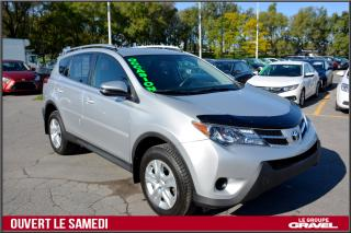 Used 2015 Toyota RAV4 LE - AWD - CAM RECUL - SUPPORT TOIT - BLUETOOTH for sale in St-Léonard, QC