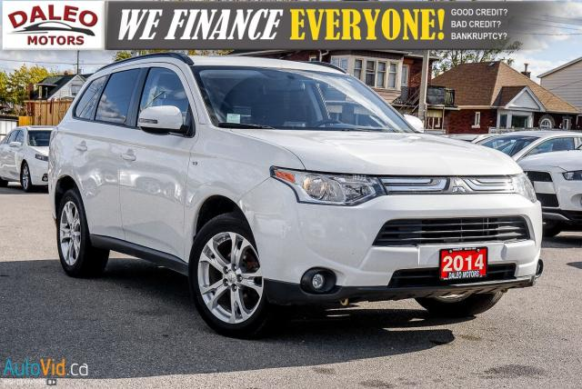 2014 Mitsubishi Outlander SE | 4WD | HEATED SEATS | BACKUP CAM |