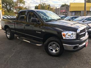 Used 2008 Dodge Ram 1500 SXT/ CREW CAB/ 4X4/ RUNNING BOARDS/ LIKE NEW! for sale in Scarborough, ON