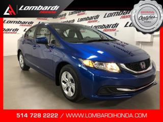 Used 2015 Honda Civic LX|JAMAIS ACCIDENTÉ| for sale in Montréal, QC