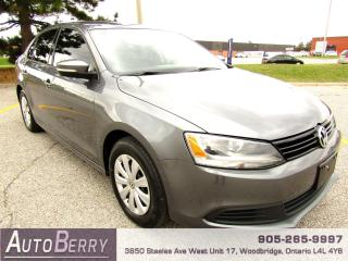 Used 2014 Volkswagen Jetta 2.0L - FWD - 5 Speed Manual for sale in Woodbridge, ON