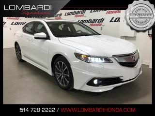 Used 2015 Acura TLX ELITE|AERO KIT|SH-AWD|NAVI|CAM| for sale in Montréal, QC
