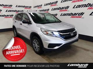 Used 2016 Honda CR-V LX|AUCUN ACCIDENT| for sale in Montréal, QC