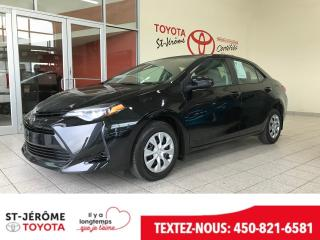 Used 2018 Toyota Corolla * CAMÉRA * AIR * 29 000 KM * for sale in Mirabel, QC