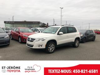 Used 2011 Volkswagen Tiguan * 4 MOTION * CUIR * TOIT PANO * MAGS * 116 000 KM for sale in Mirabel, QC