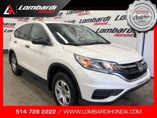 Used 2015 Honda CR-V LX|JAMAIS ACCIDENTÉ| for sale in Montréal, QC