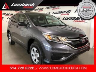 Used 2016 Honda CR-V LX|AWD|JAMAIS ACCIDENTÉ for sale in Montréal, QC