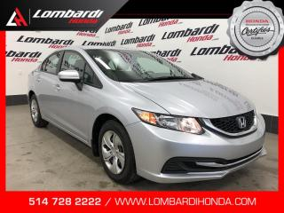 Used 2014 Honda Civic LX|39614 kilo seulement| for sale in Montréal, QC