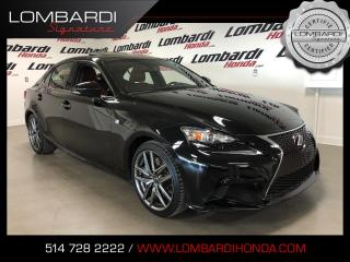 Used 2016 Lexus IS 300 IS300 FSPORT AWD CUIR ROUGE for sale in Montréal, QC