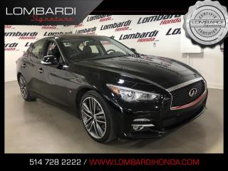 Used 2015 Infiniti Q50 LIMITED TECH 19'MAGS NAVI BOSE  for sale in Montréal, QC