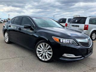 Used 2014 Acura RLX Elite Pkg.Navi.Camera.Blind Spot.Acura ParkAssist for sale in Kitchener, ON
